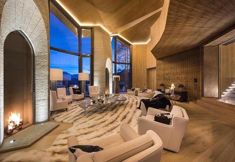 Luksusowa willa Jana Kulczyka w Alpach jest na sprzedaż.Zobacz ZDJĘCIA na kolejnych slajdach