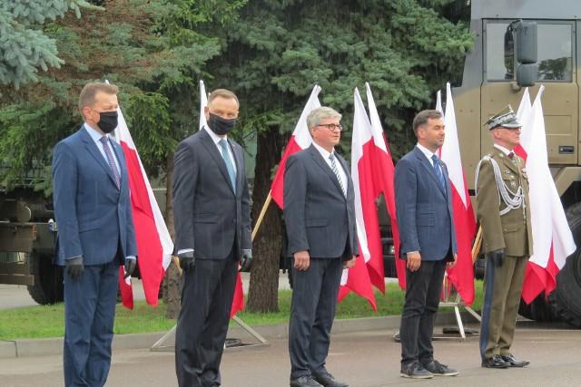 Andrzej Duda w Brodnicy