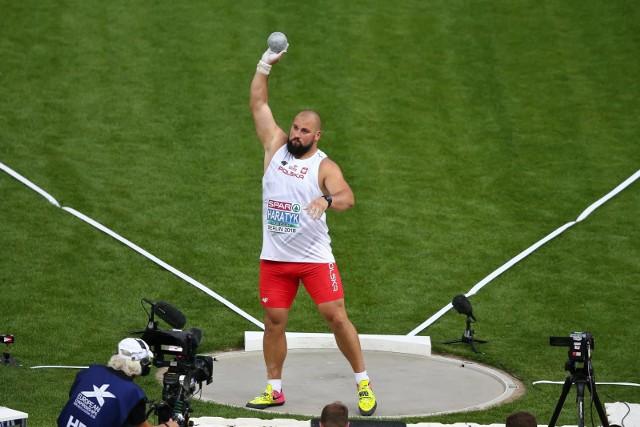 Złoty medal z Berlina jest drugim krążkiem mistrzostw Europy w karierze Michała Haratyka. Dwa lata temu w Amsterdamie nasz kulomiot zdobył srebro.