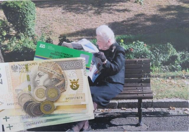 Pełną kwotę czternastej emerytury, czyli 1250,88 zł brutto, dostaną osoby, których świadczenie podstawowe nie przekracza 2900 zł brutto.
