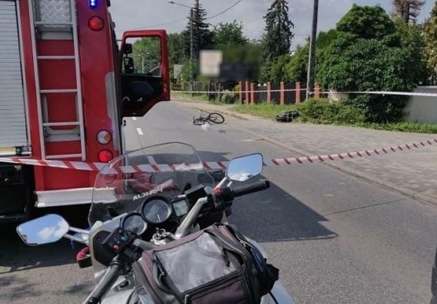 Do tragicznego wypadku doszło 6 sierpnia 2020 roku na ulicy św. Rocha w Częstochowie