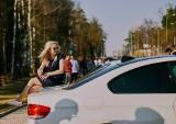 Wiosenny spot BMW Podlasie przy ul. Wysockiego w Białymstoku 8.04.2018 (zdjęcia)