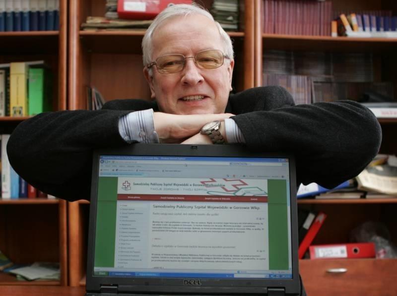 Dyrektor Marek Twardowski mówi, że szpital jako spółka nie pogorszy sytuacji pacjentów.