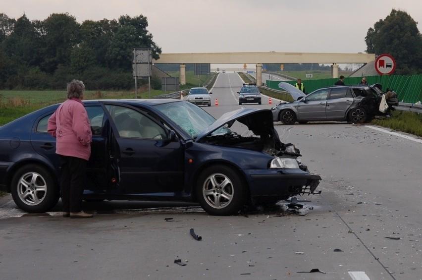 Śmiertelny wypadek na autostradzie A4, 27.09.2014