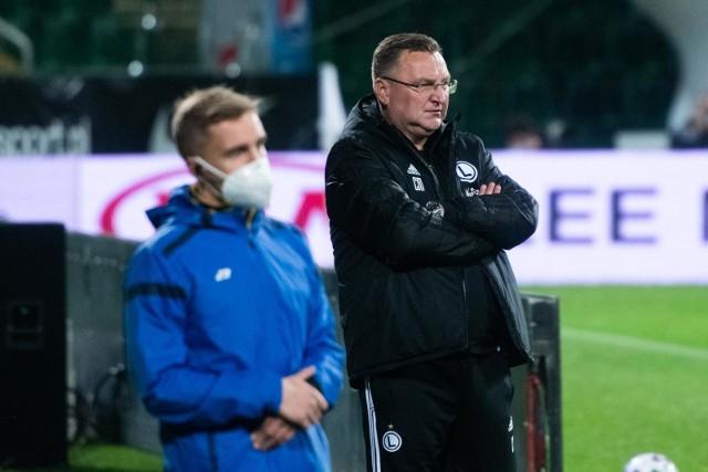Trener Legii Warszawa przed hitem Fortuna Pucharu Polski z Widzewem Łódź