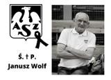 Z kroniki żałobnej. 15 czerwca 2021 roku pogrzeb byłego krakowskiego lekkoatlety, trenera, nauczyciela i kierownika SWFiS UJ Janusza Wolfa