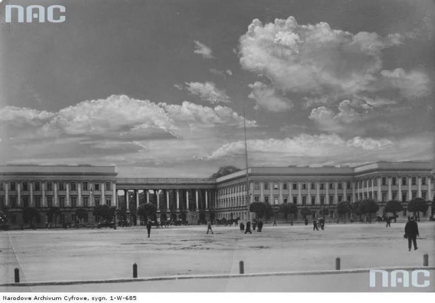 Warszawa: Pałac Saski zostanie odbudowany? Prezydent Andrzej Duda przekazał projekt ustawy