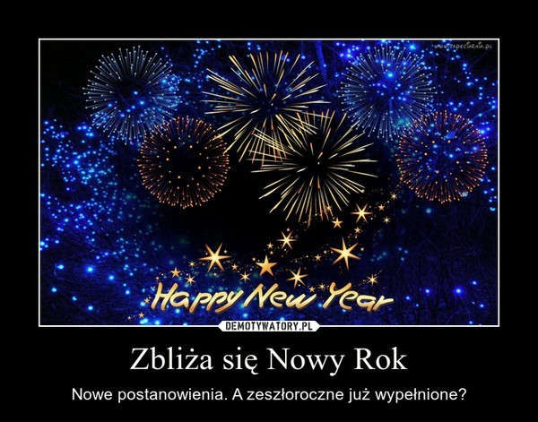 Zarówno zabawne, jak i poważne życzenia noworoczne wybierzecie razem z nami