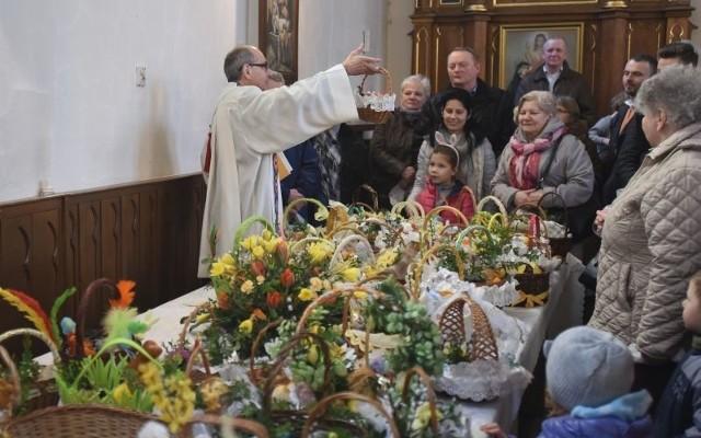 Święcenie pokarmów w kościołach