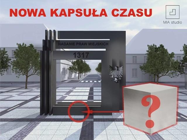 Decyzję o wmurowaniu nowej kapsuły podjęto w związku z modernizacją placu i budową nowego pomnika.