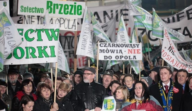 Piątkowa pikieta będzie kolejnym protestem przeciw powiększeniu Opola.