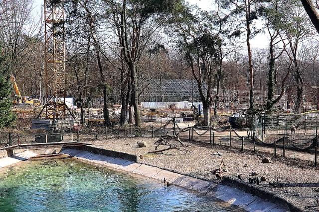 Budowa Orientarium w Łodzi