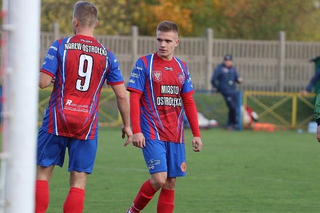 Narwianie przystąpili do meczu z Wkrą w roli faworyta, jako niepokonana ekipa w lidze okręgowej.