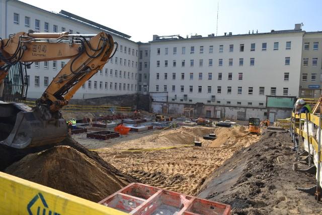 Sosnowiec: w Szpitalu Miejskim trwa budowa nowoczesnego bloku operacyjnego