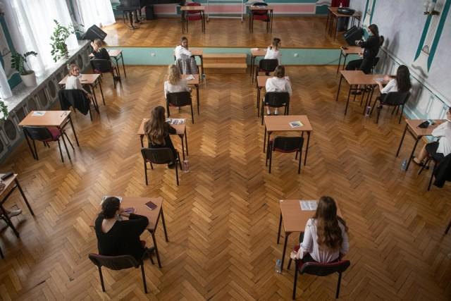 Egzamin maturalny, zdjęcie ilustracyjne.