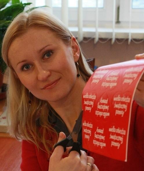 - Dostaliśmy już identyfikatory i serduszka - mówi Monika Ziółkowska z lokalnego sztabu WOŚP.
