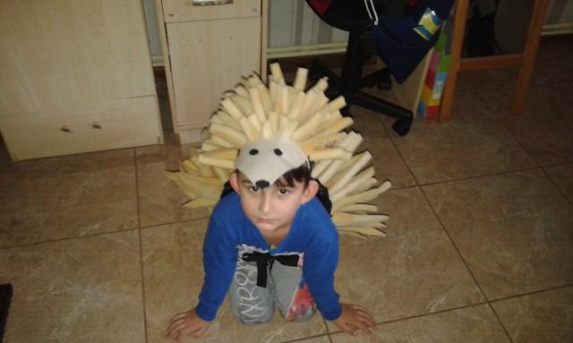 Marcel Drab, WysokaMarcel ma 5 lat. Chodzi do przedszkola. Strój, który ma na sobie, jest wykonany ręcznie przeze mniei Marcelka. Proszę o głosy.