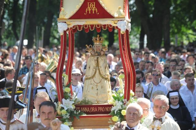Odpust ku czci św. Anny odbędzie się już 29 i 30 lipca. Anny przyjadą do swojej patronki specjalnie - 9 września.