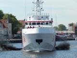 Wypadek na morzu. Z kutra UST-106 wypadł rybak