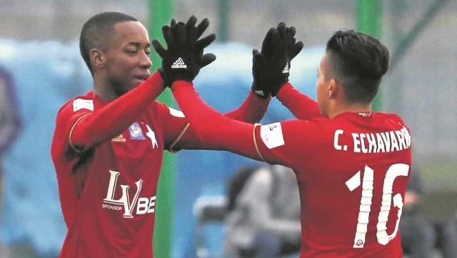 20-letni Ever Valencia do Wisły trafił razem ze swoim przyjacielem i rówieśnikiem Cristianem Echavarrią