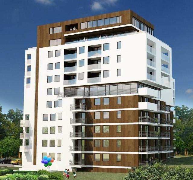 Tak będzie wyglądał będzie nowy apartamentowiec w centrum Kielc