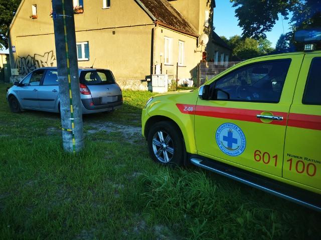 Tylko dzięki szybkiej reakcji ratownika WOPR policjanci z Posterunku Policji w Mielnie zatrzymali pijanego kierowcę.