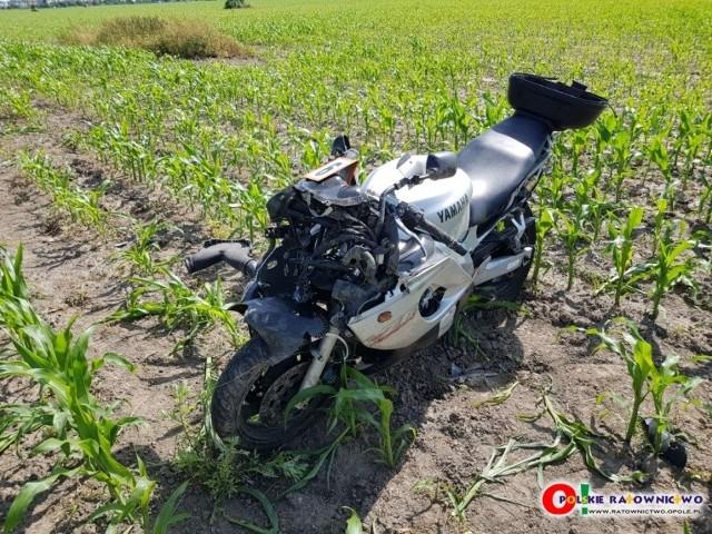 Wypadek w Gotartowie.