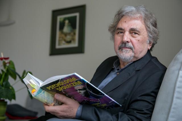 Prof. Zbigniew Nęcki - psycholog, socjolog z Uniwersytetu Jagiellońskiego w Krakowie