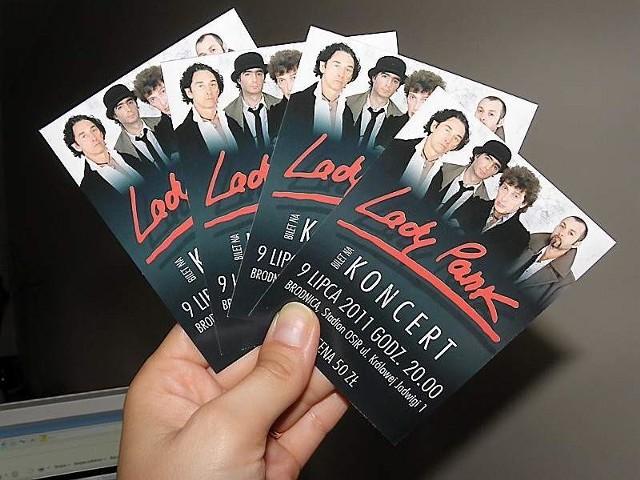 Z tymi biletami na koncert na wejdziesz, został odwołany.