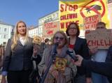 Protest mieszkańców Koła przeciw budowie chlewni na 1.500 świń