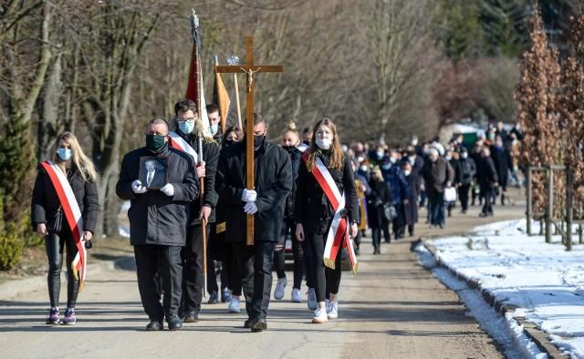 Tadeusza Hucińskiego pożegnano na gdańskim cmentarzu Łostowice