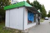 ZIELONA GÓRA. Nieznany sprawca podpalił kiosk przy ul. Wyszyńskiego. Właściciel prosi mieszkańców o pomoc! [WIDEO, ZDJĘCIA]