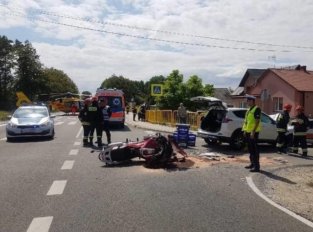 Do tragicznego wypadku doszło 8 lipca 2019 na drodze krajowej numer 79 w Wełninie koło Buska-Zdroju.