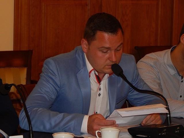 Jednym z współautorów apelu był radny Grzegorz Hryniewicz.