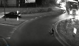 Wyszków. Jednemu kierowcy przeszkadzały pasy bezpieczeństwa, drugi... zobaczcie sami, jak pokonał rondo