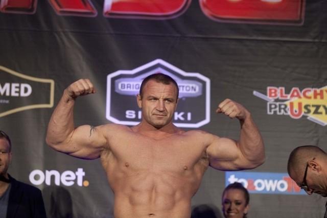 Mariusz Pudzianowski pokonał Brytyjczyka