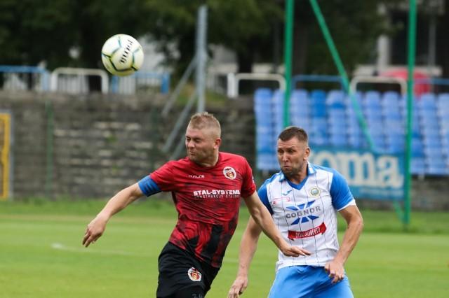 Tym razem to nie Krzysztof Pietluch (nz z lewej) strzelił gola, a jego zmiennik.