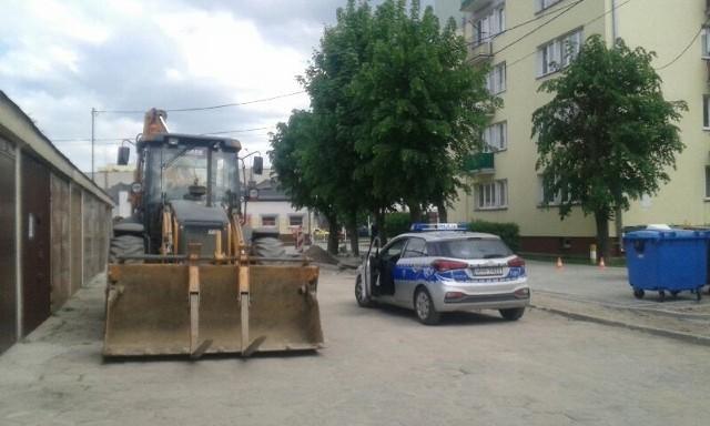 Ostrołęka. Niewybuch na ulicy Sygietyńskiego