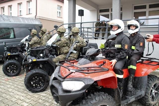 W ubiegłym roku patrole Wojsk Obrony Terytorialnej i strażacy - ochotnicy z Odrzywołu patrolowali lasy.