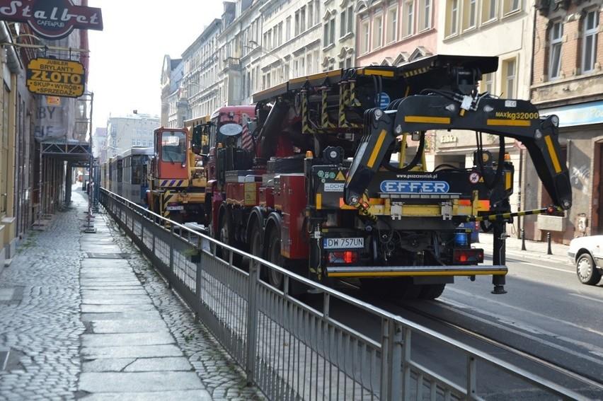 Zderzenie tramwajów w centrum. Ranna motornicza