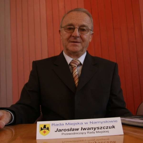 Jarosław Iwanyszczuk jest rajcą miejskim od pięciu kadencji. Dopiero w tej został szefem rady miejskiej.