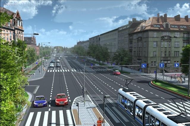 Tak ma wyglądać przebudowana ulica Curie-Skłodowskiej