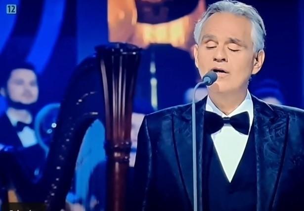 """Andrea Bocelli wykonał utwory ze swojej najnowszej płyty """"Believe"""", z przesłaniem miłości i nadziei, zawierające treści nawiązujące do wiary, rodziny i ludzkiego życia"""