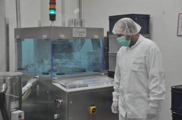 Zakład produkcyjny Medicofarma w Radomiu szczyci się najnowszymi liniami technologicznymi do produkcji leków.