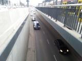 Łodzianin wpadł do tunelu na trasie W-Z w Łodzi! Spadł z wysokości dziewięciu metrów i przeżył!