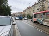Stłuczka tramwaju na Nowowiejskiej. Są utrudnienia