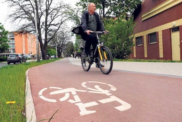 Ścieżka rowerowa wzdłuż ul. Zwycięstwa to przykład realizacji projektu sfinansowanego w ramach budżetu obywatelskiego