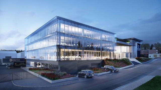 Trwa rozbudowa budynku biurowego. Inwestycja zakończy się już we wrześniu przyszłego roku.