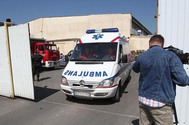 Wczoraj 7 pracowników zakładu zemdlało, wszyscy zostali przewiezieni do szpitala.