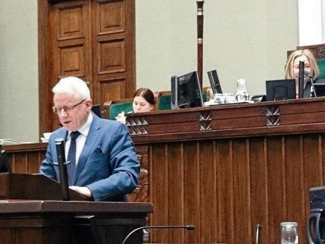 Tadeusz Arkit kończy karierę w Sejmie. Od listopada br. będzie szefem wodociągów w Chrzanowie